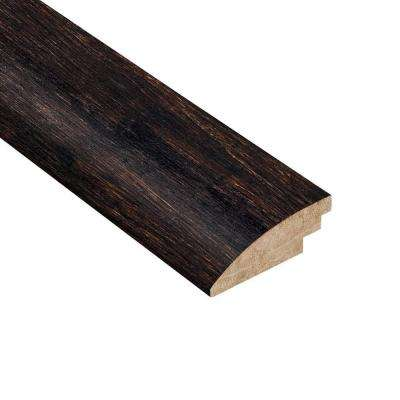 Strand Woven Espresso 9/16 in. Thick x 2 in. Wide x 78 in. Length Bamboo Hard Surface Reducer Molding