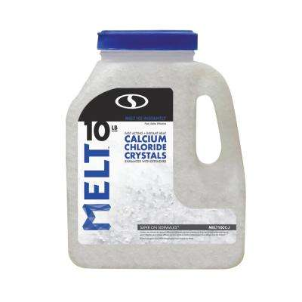 10 lb. Jug Calcium Chloride Crystals Ice Melter