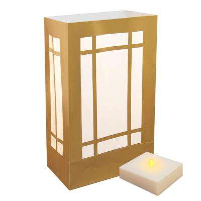 LumaLite Luminaria Kit in Lantern (6-Pack)