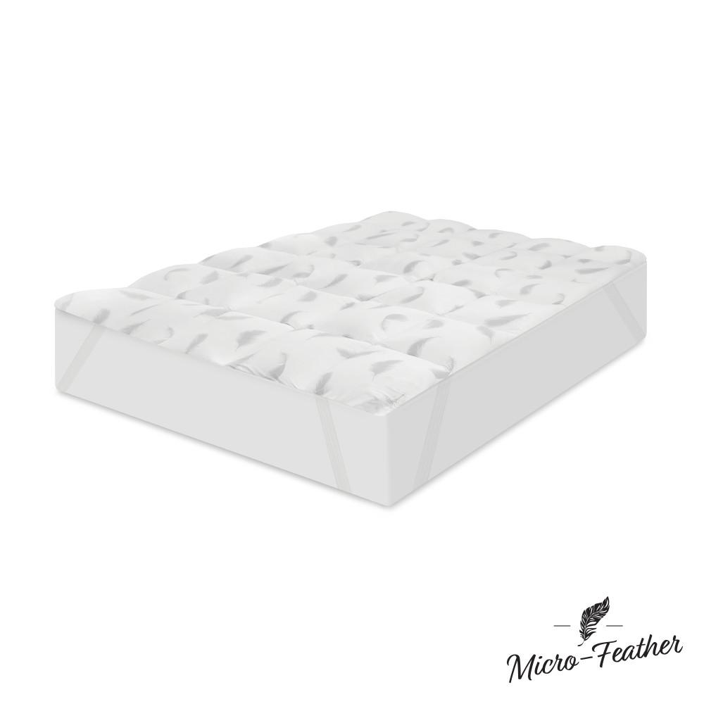 SensorPEDIC Quilted 2 in. Queen Memory Foam and Micro ...