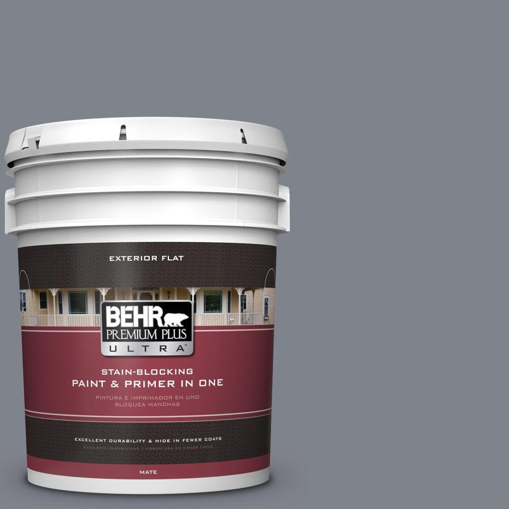 BEHR Premium Plus Ultra 5-gal. #760F-5 Milestone Flat Exterior Paint