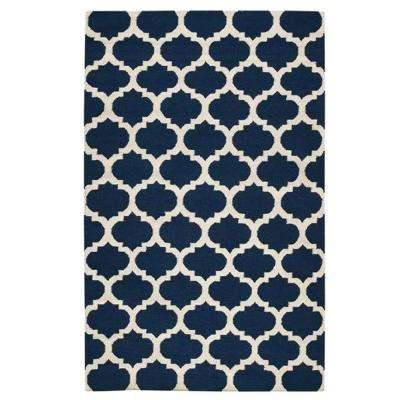 Allure Navy 5 ft. x 8 ft. Area Rug