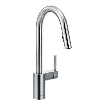 Align Single-Handle Pull-Down Sprayer Kitchen Faucet with Reflex and Power Clean in Chrome