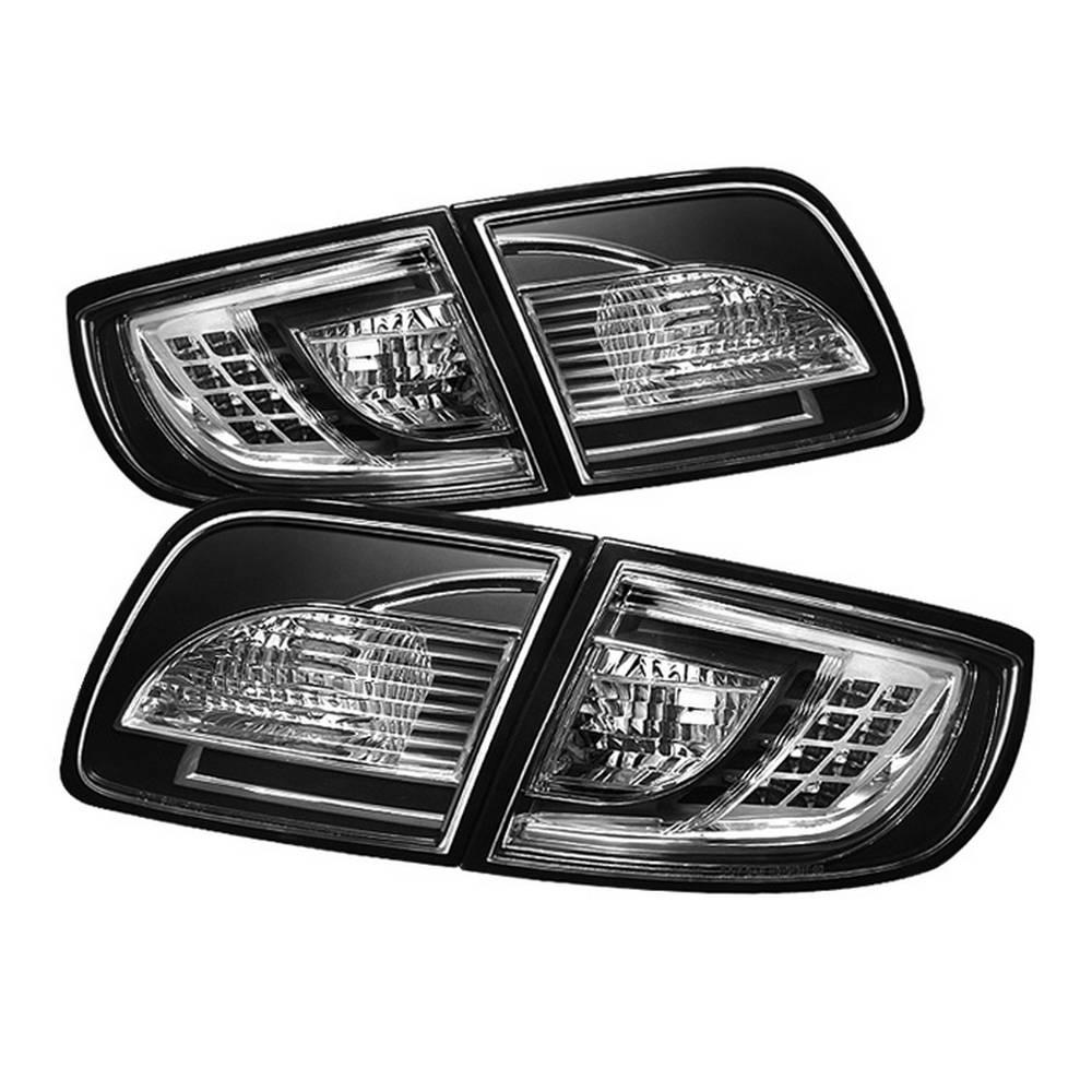 Mazda 3 03 08 4dr Sedan Non Hatchback Led Tail Lights Black