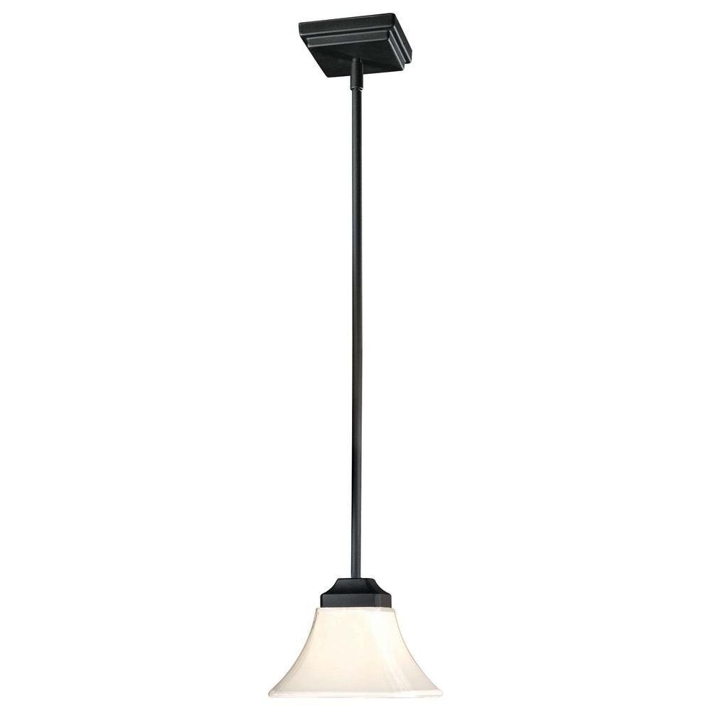 Agilis 1-Light Black Mini Pendant