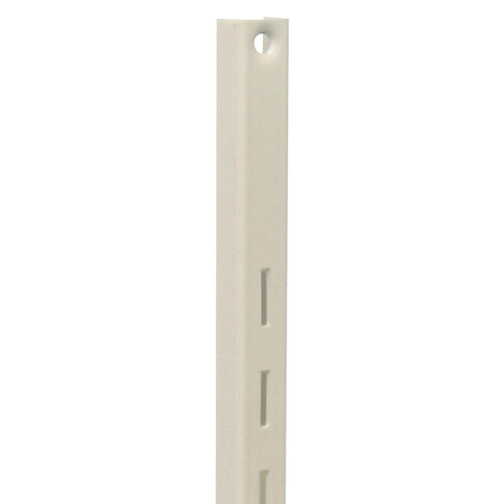 80 Series 24 in. L Almond Adjustable Shelving Standard