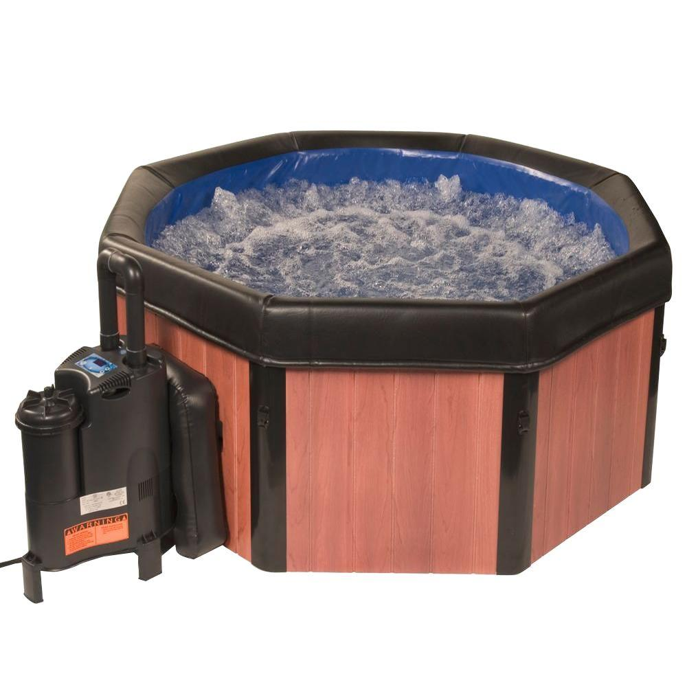 Spa-N-A-Box 6-Person Portable Spa with Easy Setup
