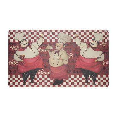 Chef Marcello 18 in. x 30 in. Extra Thick Premium Foam Comfort Kitchen Mat