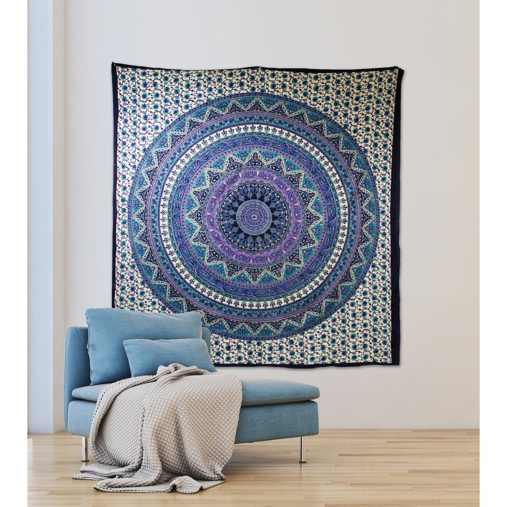 Wall Pops 8464 In X 9252 In Anika Wall Tapestry Wpt2279 The Home