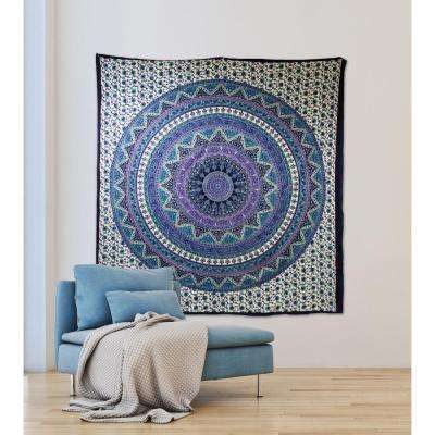 84.64 in x 92.52 in Anika Wall Tapestry