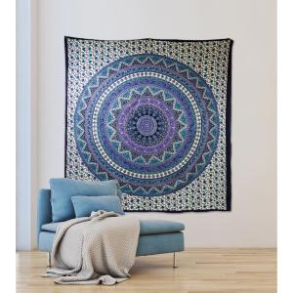 WallPops 84.64 in x 92.52 in Anika Wall Tapestry by WallPops