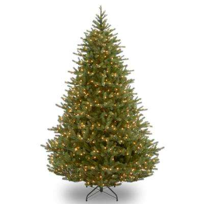 7.5 ft. Noble Fir Tree with Clear Lights