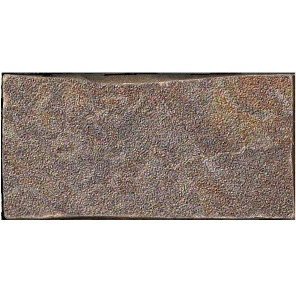 U.S. Ceramic Tile Stratford 3 in. x 6 in. Bamboo Porcelain Floor and Wall Tile-DISCONTINUED