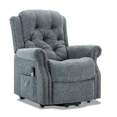 Madison Steel Blue Fabric Lift Chair
