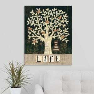 Tree Of Life By Annie Lapoint Canvas Wall Art
