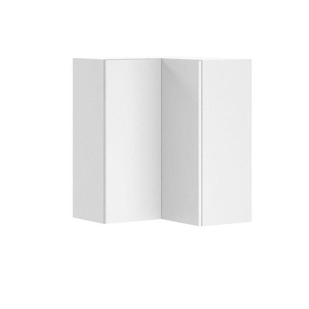 Fabritec Ready To Assemble 24x30x24 In Alexandria Corner Wall Cabinet In White Melamine And