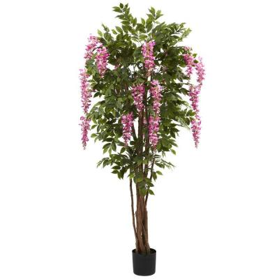 6.5 ft. Wisteria Silk Tree