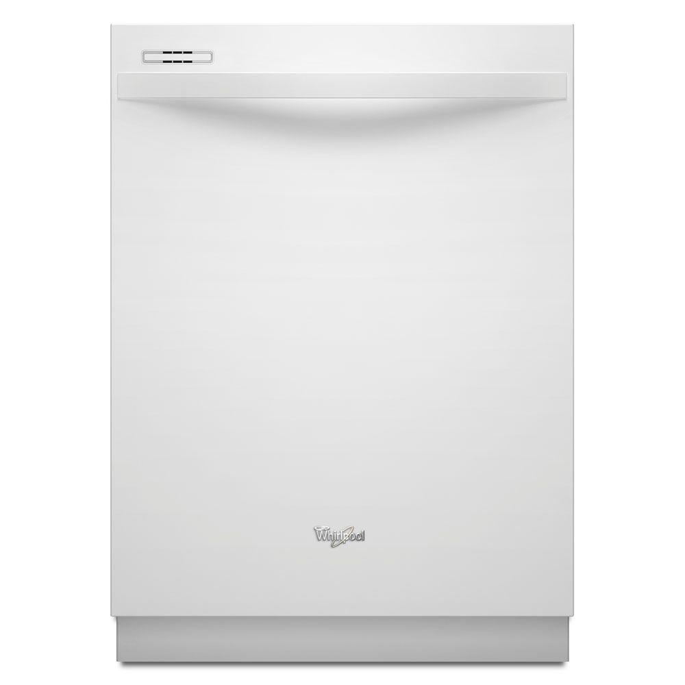 Whirlpool Gold Top Control Dishwasher in White