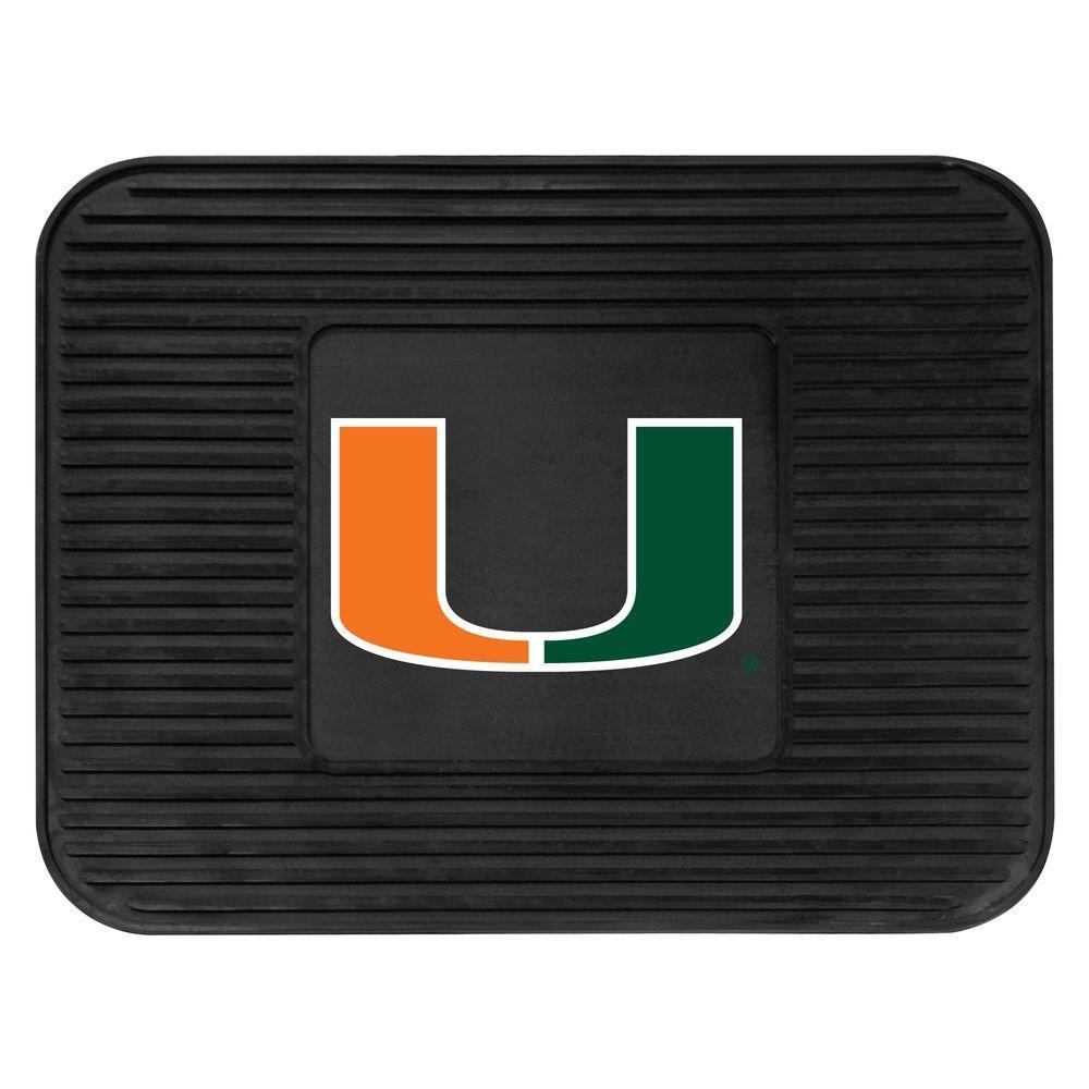 FANMATS University of Miami 14 in. x 17 in. Utility Mat