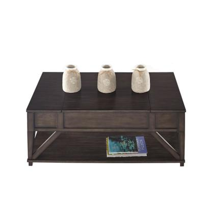 Consort Midnight Oak Lift-Top Cocktail Table