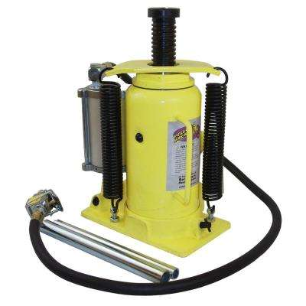 20-Ton Air/Manual Hydraulic Bottle Jack