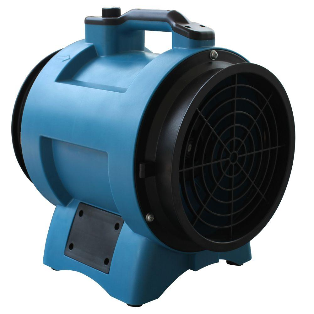 XPOWER 12 in. Variable Speed Industrial Confined Space Fan