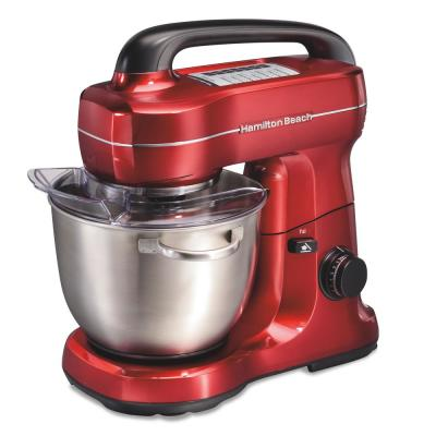 4 Qt. 7-Speed Red Stand Mixer with Tilt Head