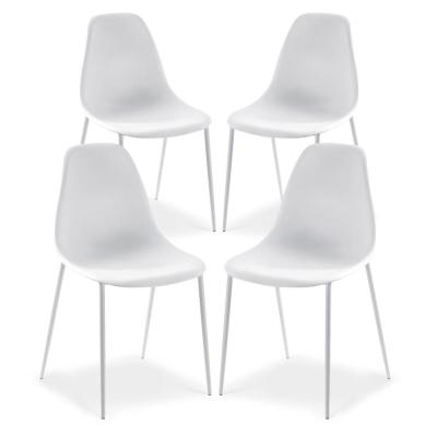 Isla White Dining Chair (Set of 4)
