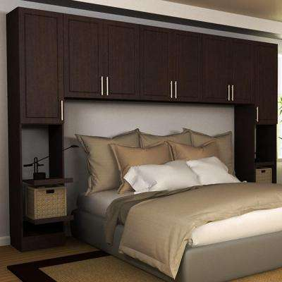 Madison 1-Piece Mocha King Bedroom Kit