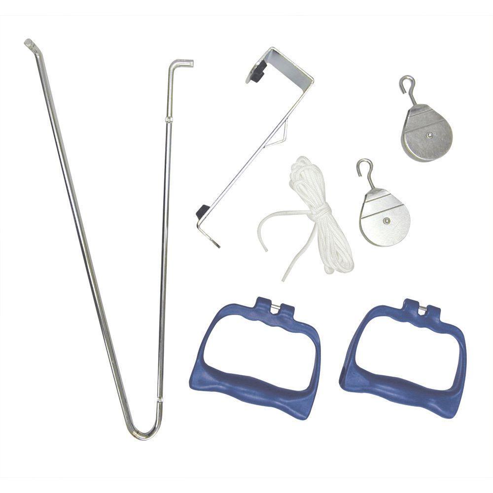 Standard Overdoor Exercise Pulley Set with Handles