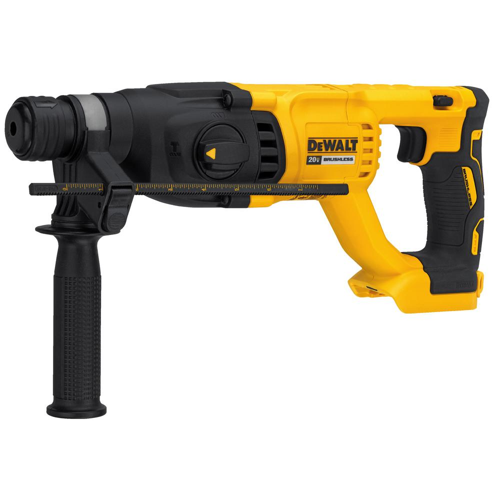 DEWALT 20-Volt MAX XR Lithium-Ion 1 in. Cordless SDS-Plus Brushless D-Handle Concrete & Masonry Rotary Hammer (Tool-Only)