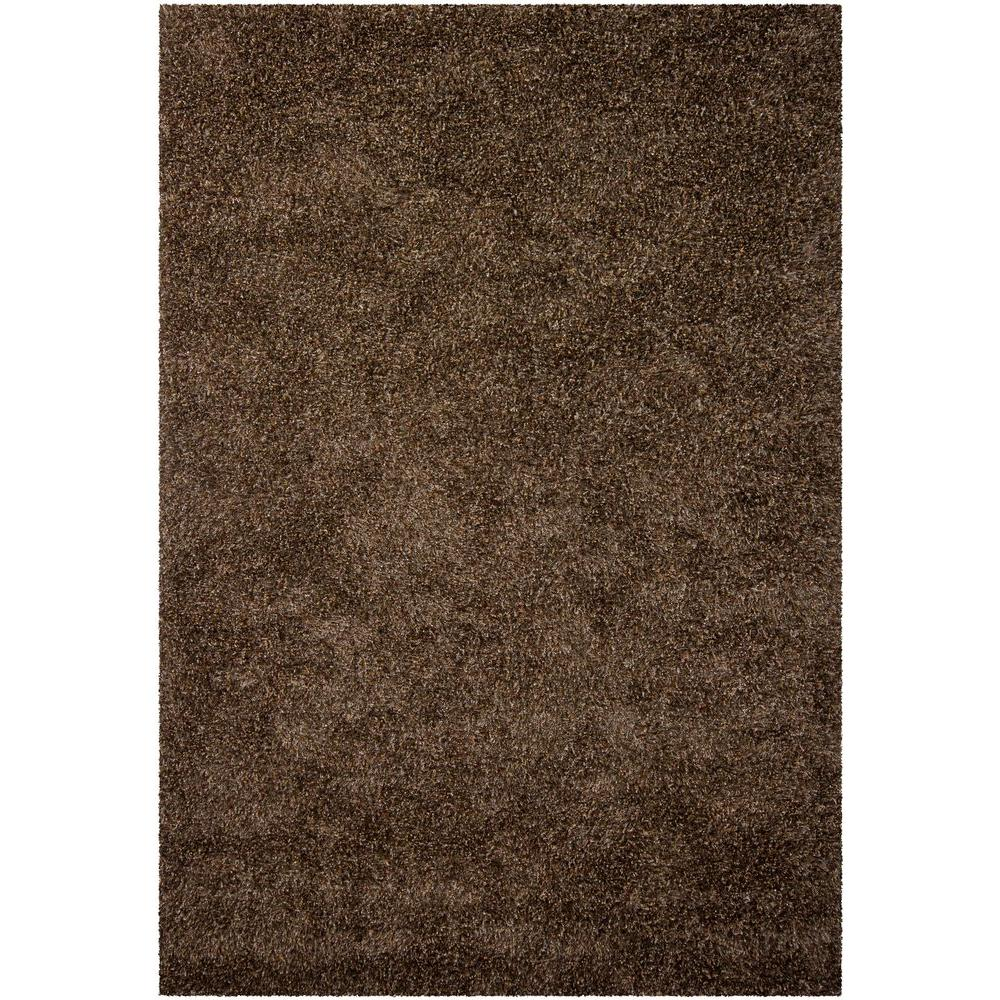 Barun Brown/Ivory/Gold 9 ft. x 13 ft. Indoor Area Rug