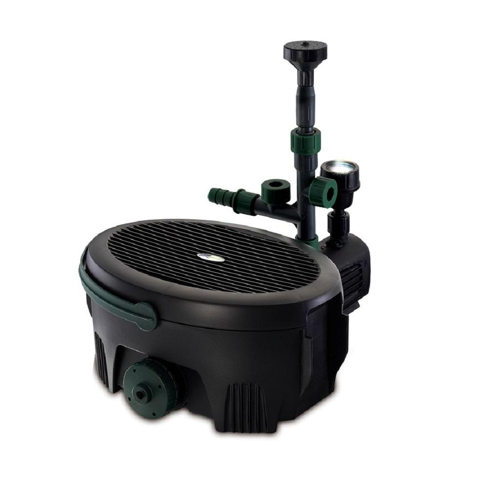 Pennington aquagarden 600 gph in pond all in one pump for Best pond pump for small pond