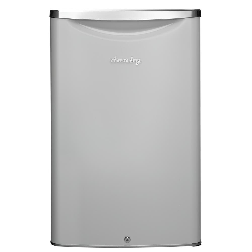 4.4 cu. ft. Mini Refrigerator in Pearl Metallic White