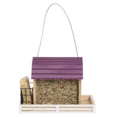 Star Barn Wood Chalet Wild Bird Feeder
