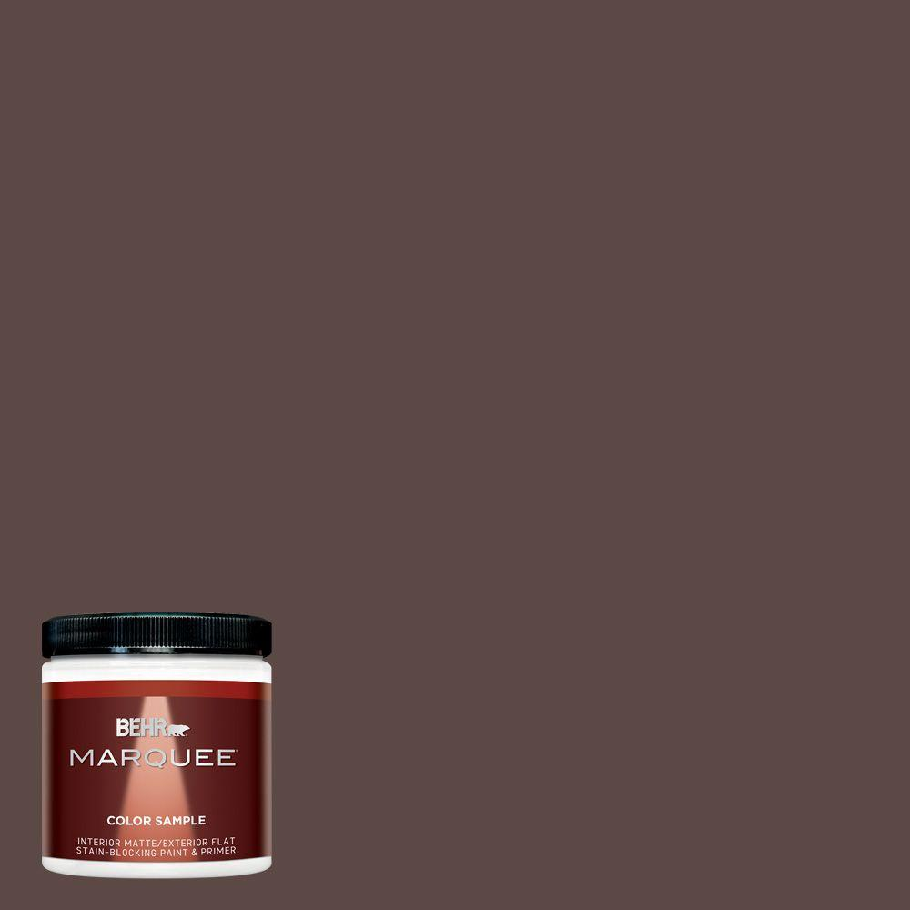 8 oz. #MQ1-58 Chocolate Soul Interior/Exterior Paint Sample