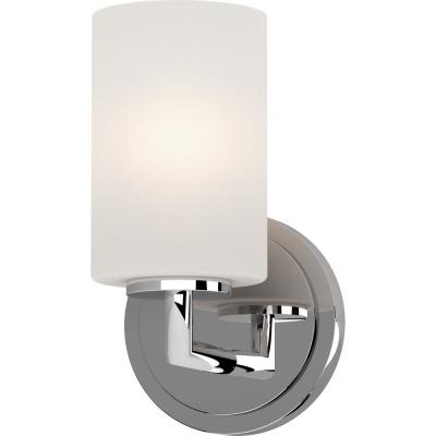 Sharyn 6 in. Chrome Sconce