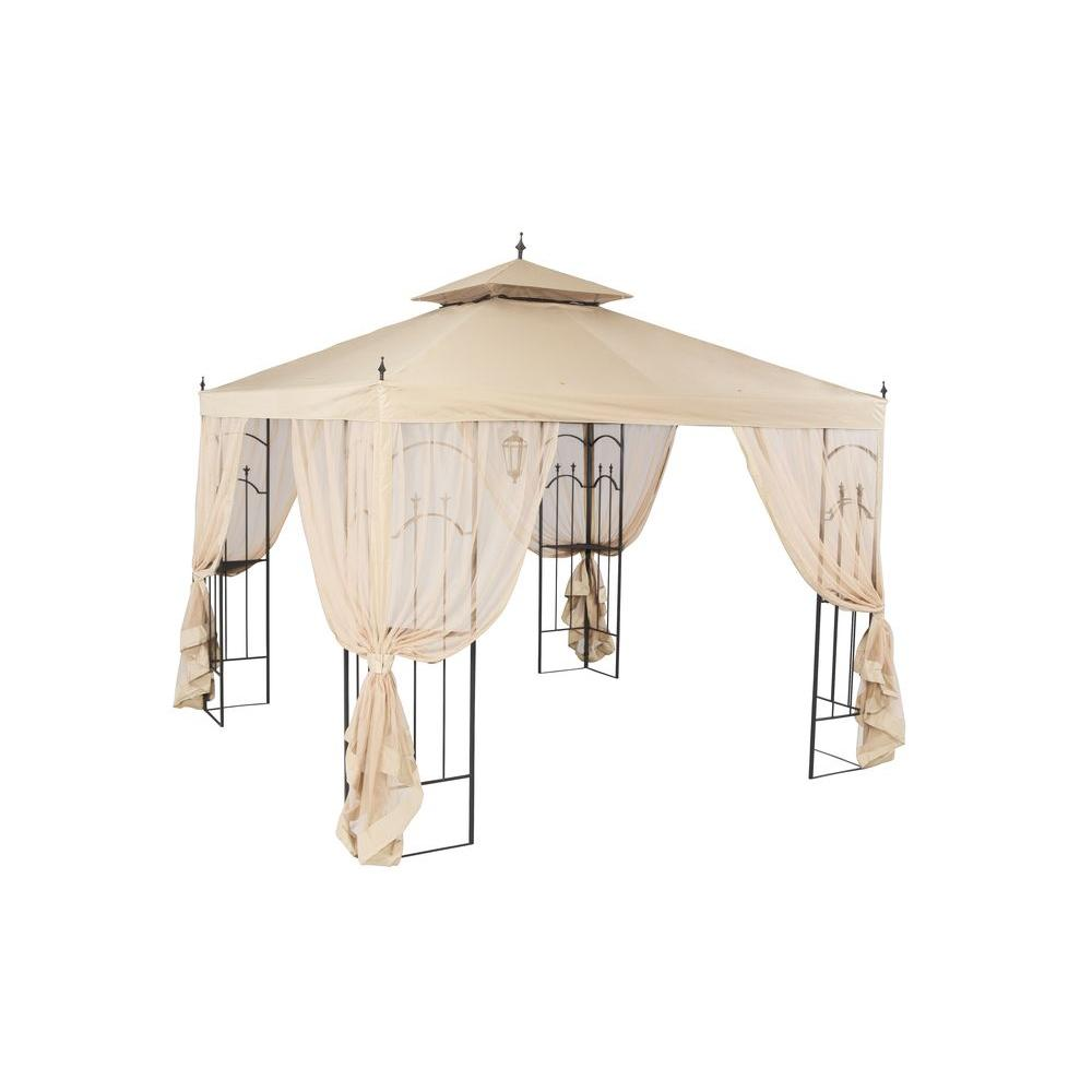 Hampton Bay 10 ft. x 10 ft. Arrow Gazebo