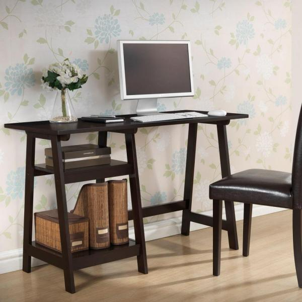 Baxton Studio Mott Dark Brown Desk 28862-3955-HD
