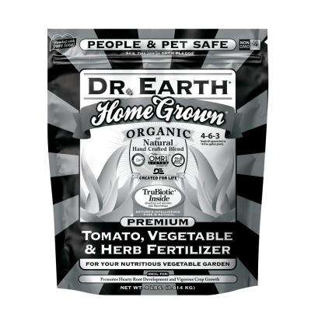 4 lb. Organic Black Label Home Grown Tomato, Vegetable, Herb Fertilizer