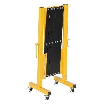 139 in. x 40 in. Aluminum Expand-A-Gate with Wheels