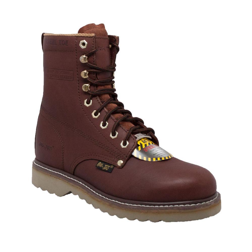 58391c354fee Adtec Men's Wide 13 Redwood Full-Grain Leather Steel Toe Farm Boots