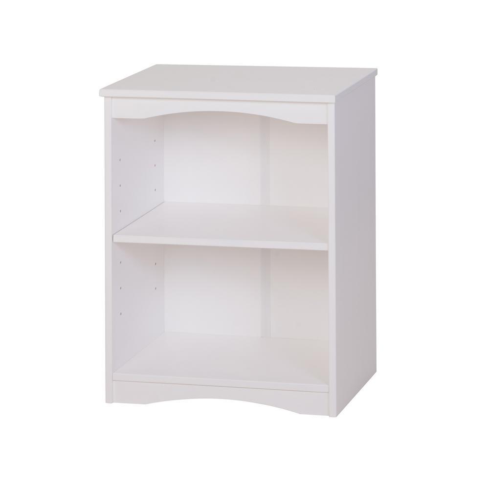 Camaflexi Essentials White 23 In W Wooden Bookcase