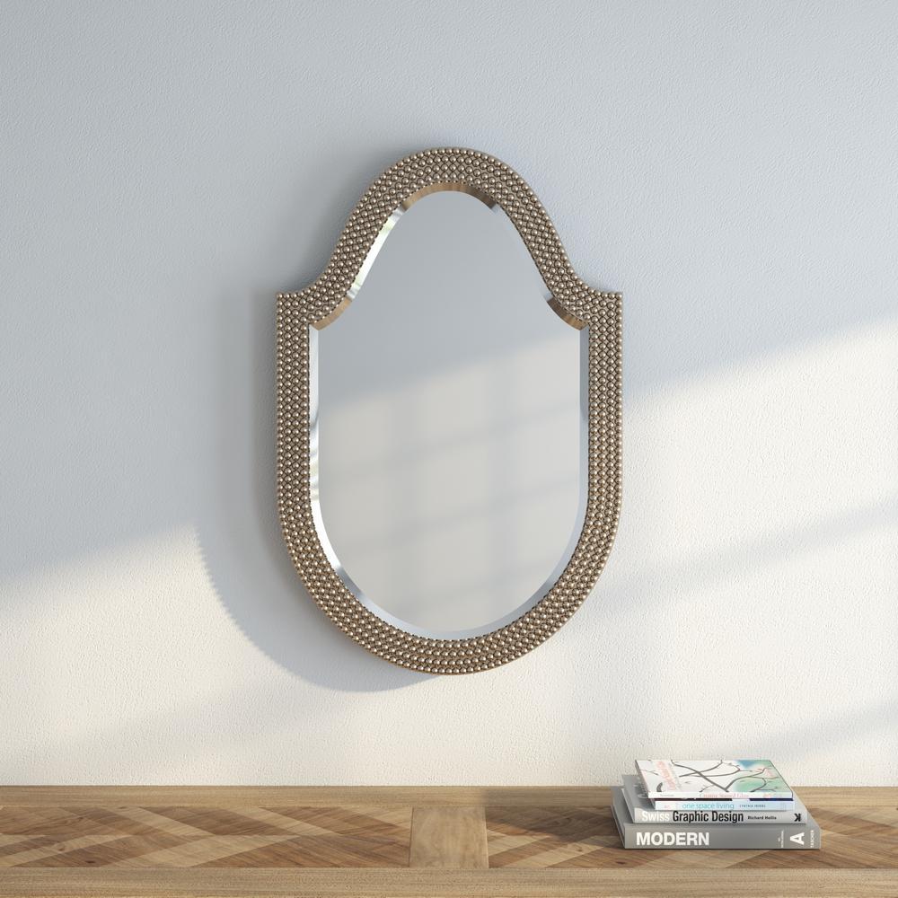 21 in. H x 32 in. W Lancelot Arched Mirror