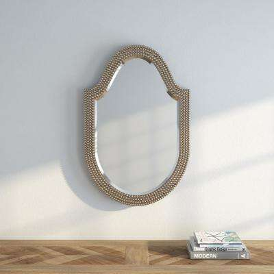 21 in. H x 32 in. W Lancelot Arched Mirror