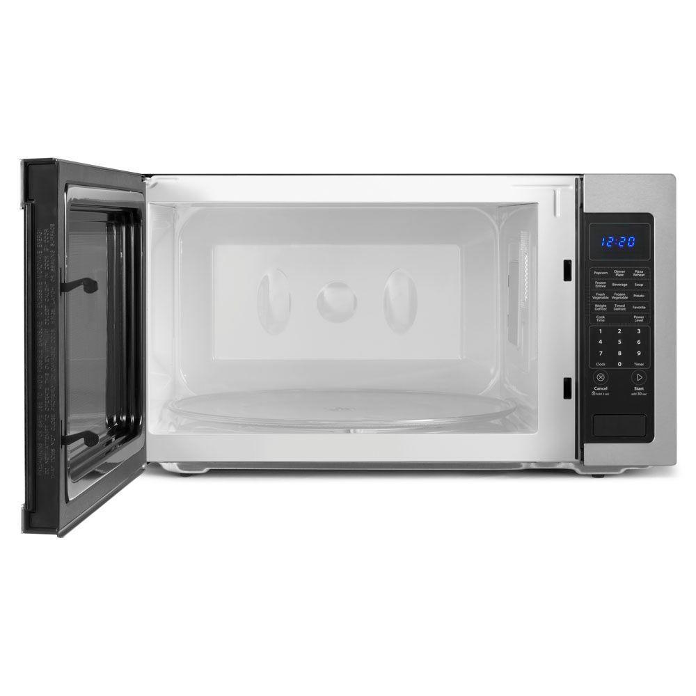 So Sku 1000013328 Whirlpool 2 Cu Ft Countertop Microwave In Stainless Steel