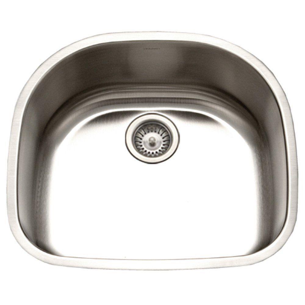 Stainless Steel Houzer Kitchen Sinks Kitchen The Home Depot - Houzer kitchen sink