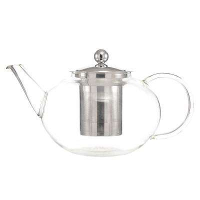Joliette 42 oz. Glass Teapot with Removable Stainless Steel Infuser