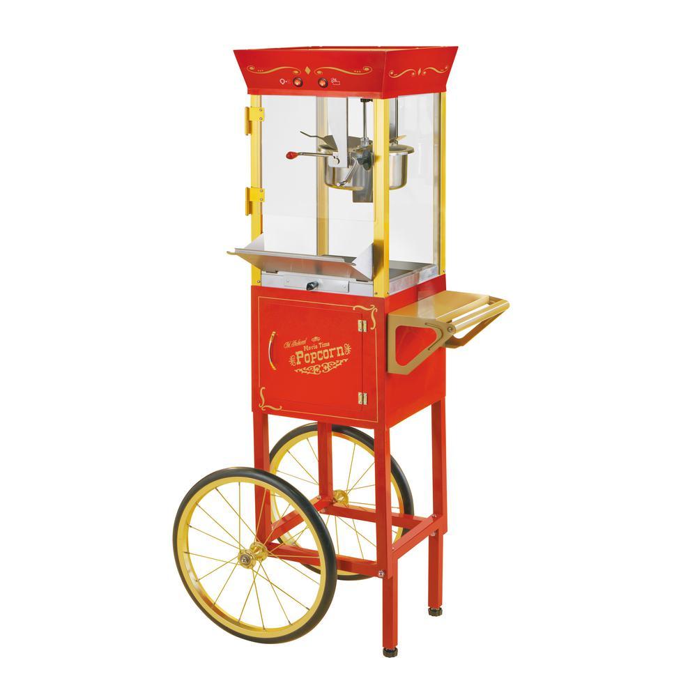 Nostalgia Vintage Collection 1 Gal. Circus Cart Popcorn Maker