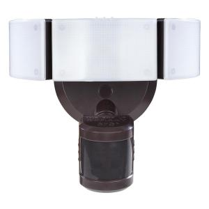 270° Bronze Motion Outdoor Integrated LED Security Light